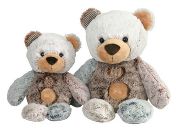 Picture of PATCHES THE BEAR SML- 30CM
