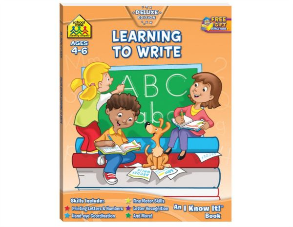 Picture of SCHOOL ZONE I KNOW IT  LEARNING TO WRITE Ages 4-6