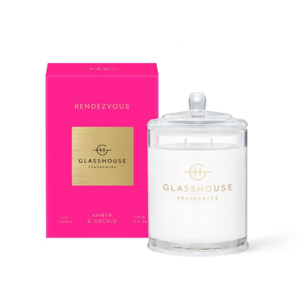 Picture of Glasshouse Fragrance Candle - Rendezvous 380g
