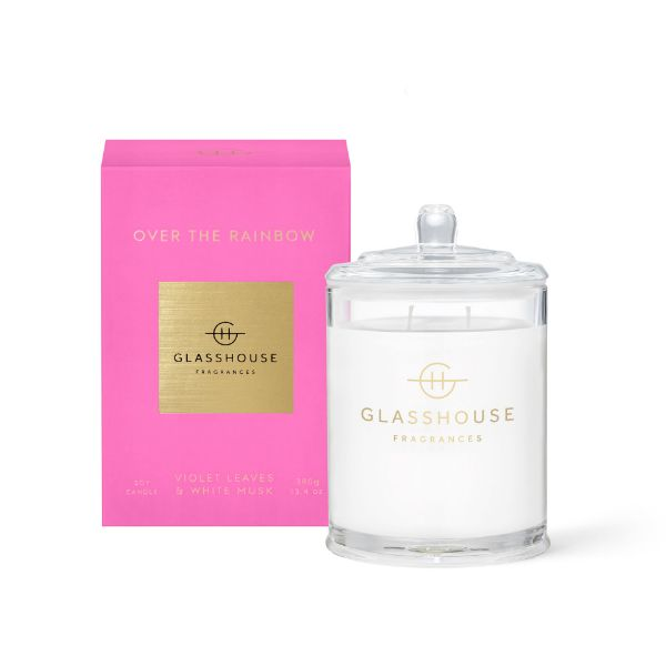 Picture of Glasshouse Fragrance Candle - Over The Rainbow 380g