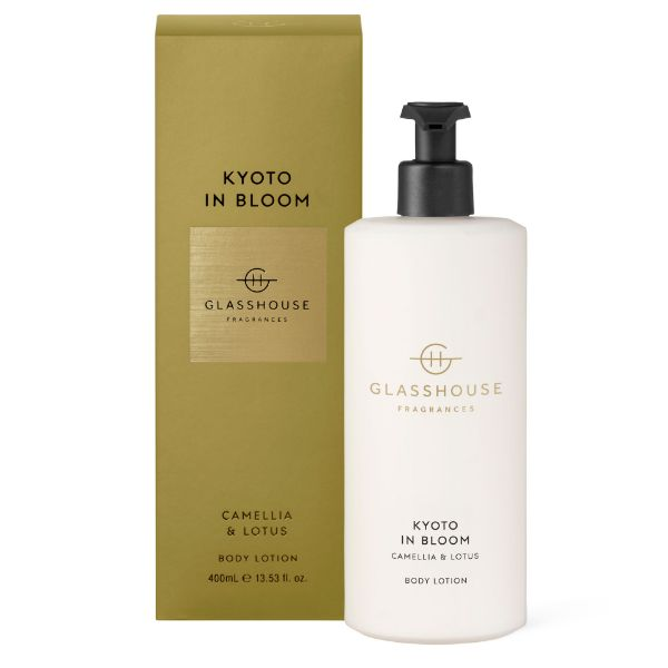Picture of Glasshouse Fragrance Body Lotion - Kyoto in Bloom 400ml