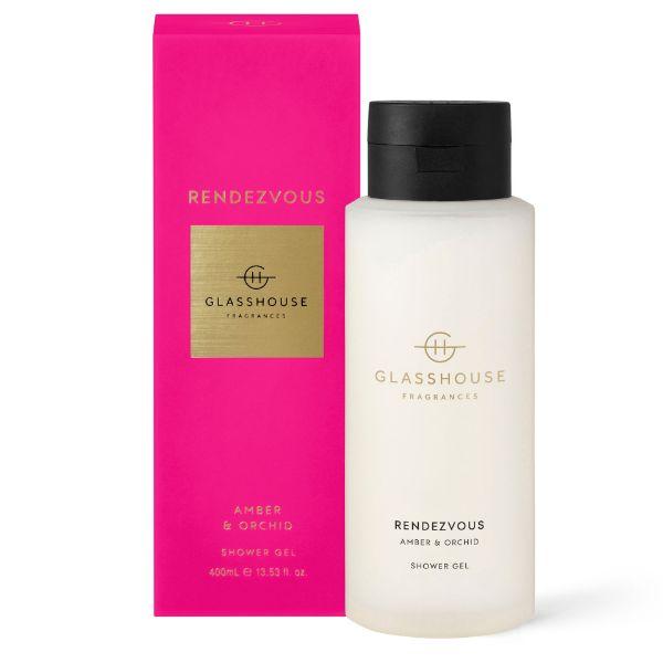 Picture of Glasshouse Fragrance Shower Gel - Rendevous 400ml