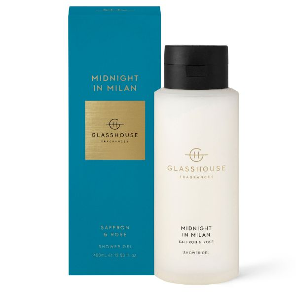 Picture of Glasshouse Fragrance Shower Gel - Midnight in Milan 400ml