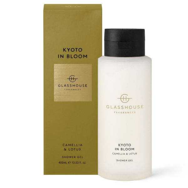 Picture of Glasshouse Fragrance Shower Gel - Kyoto in Bloom 400ml