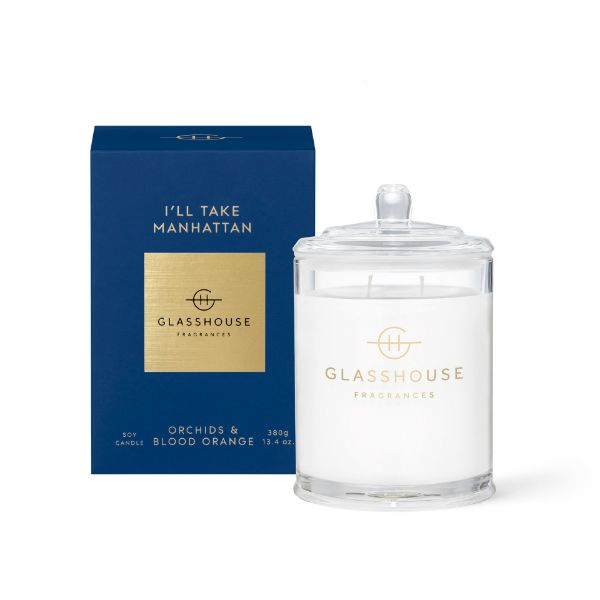 Picture of Glasshouse Fragrance Candle - Ill Take Manhattan 380g