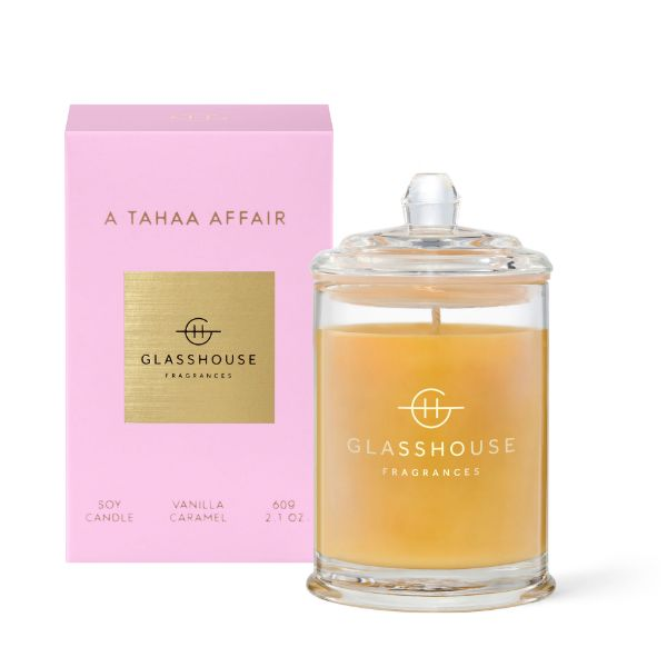 Picture of Glasshouse Fragrance Candle - A Tahaa Affair 60g