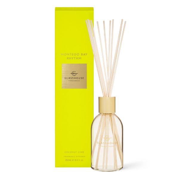 Picture of Glasshouse Fragrance Diffuser - Montego Bay Rhythm 250 ml
