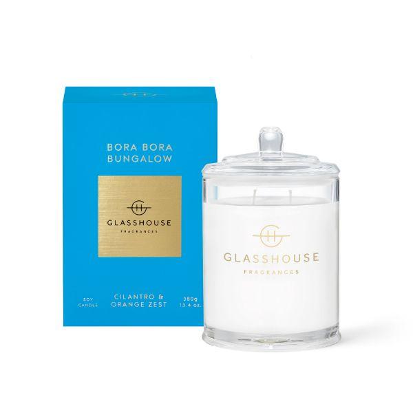 Picture of Glasshouse Fragrance Candle - Bora Bora Bungalow 380g