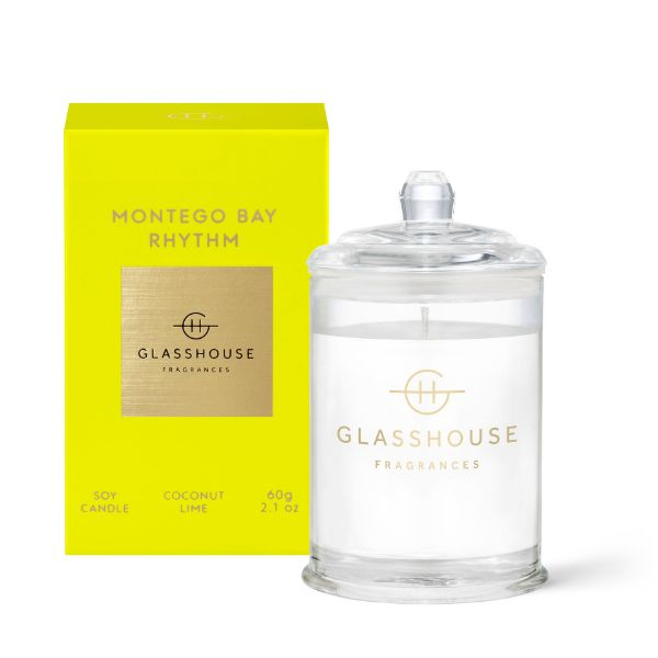 Picture of Glasshouse Fragrance Candle - Montego Bay Rhythm 60g