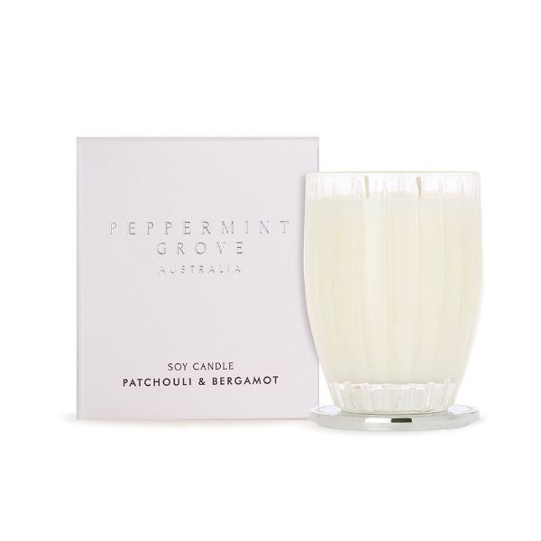 Picture of Peppermint Grove Candle 350g - Patchouli & Bergamont