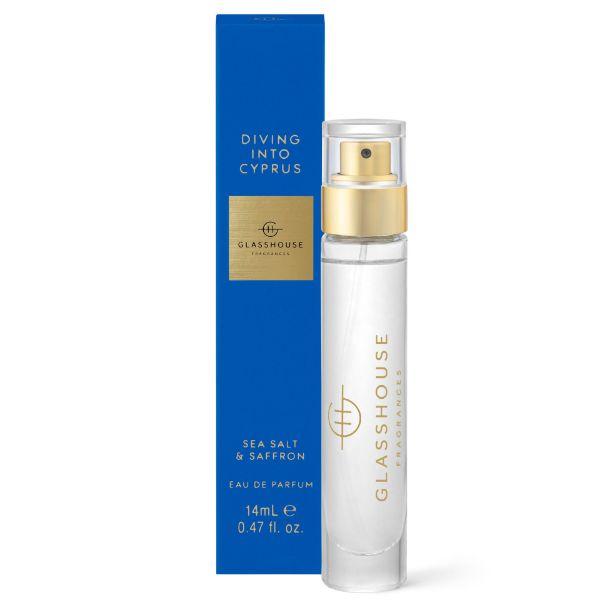 Picture of Glasshouse Fragrance Eau de Parfum Diving into Cypress 14ml