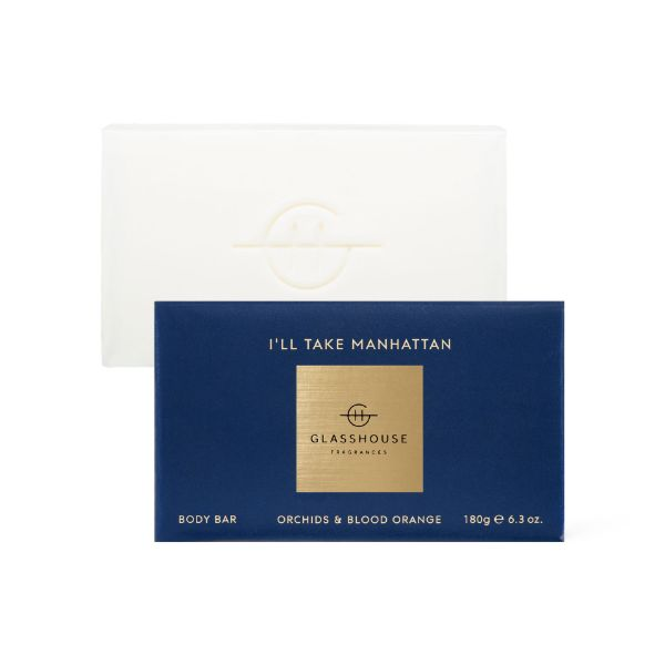 Picture of Glasshouse Fragrance Body Bar - Ill Take Manhattan 180g Bar