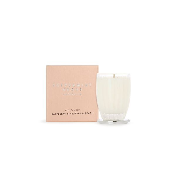Picture of Peppermint Grove Candle 60g - Rasberry, Pineapple & Peach