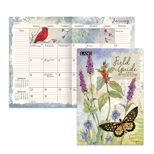 Picture of Lang 13 Month Pocket Planner 2022 Field Guide by Susan Winget