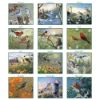 Picture of PINE RIDGE Wall Calendar 2022 Wings of Nature by Terry Doughty