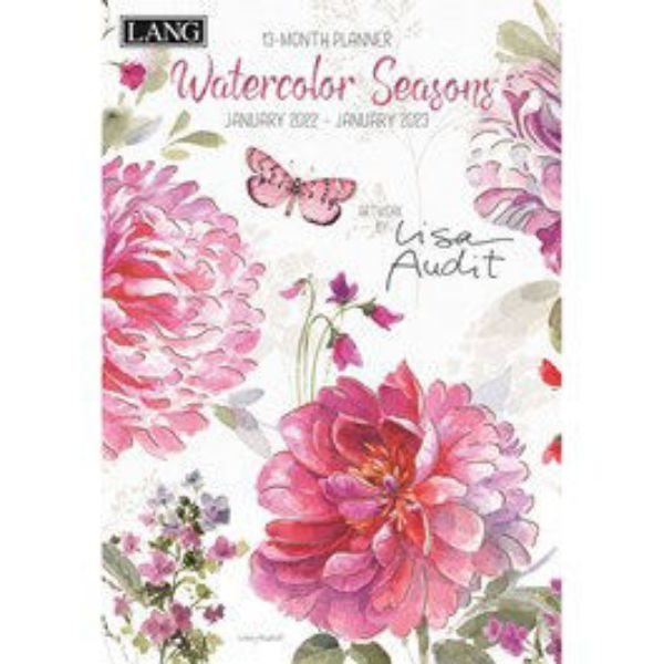 Picture of Lang Monthly Planner 2022 Watercolour Seasons by Lisa Audit