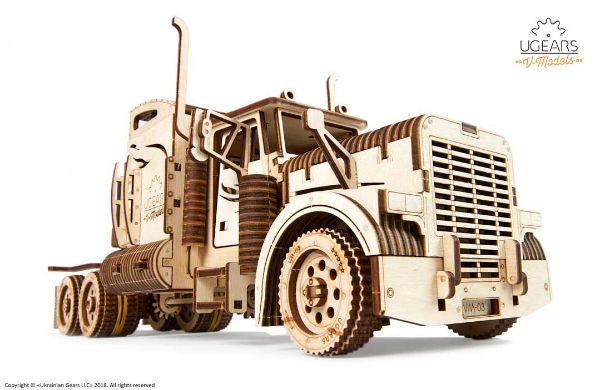 Picture of Ugears Heavy Boy Truck VM-03