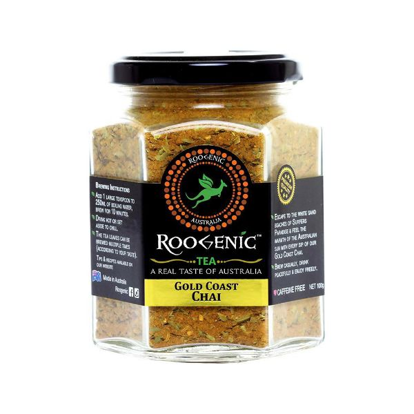 Picture of Roogenic Tea Jar Gold Coast Chai