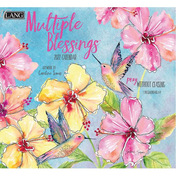 Picture of LANG Wall Calendar 2022 Multiple Blessings by Caroline