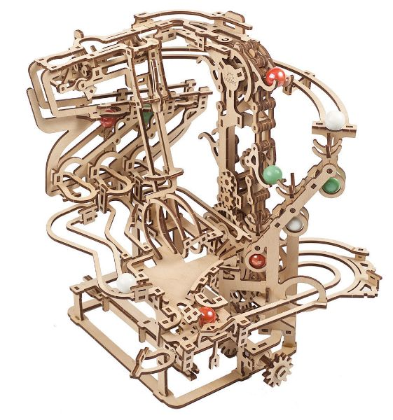 Picture of Ugears Marble Run Chain Hoist