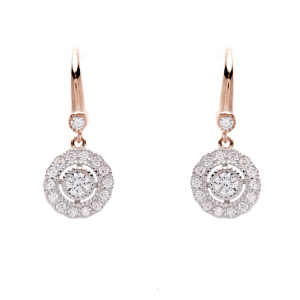 Picture of Sybella Jewellery Grace Gold Pearl Hook Earrings