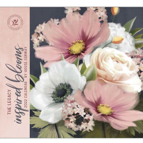 Picture of LEGACY Wall Calendar 2022 Inspired Blooms by House Fen