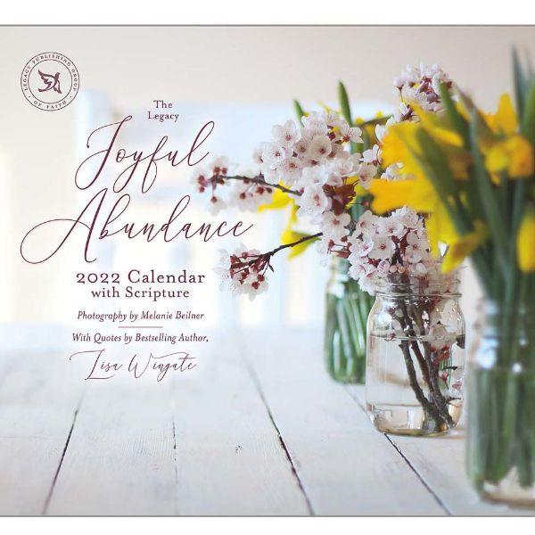 Picture of LEGACY Wall Calendar 2022 Joyful Abundance by Melanie Beilner