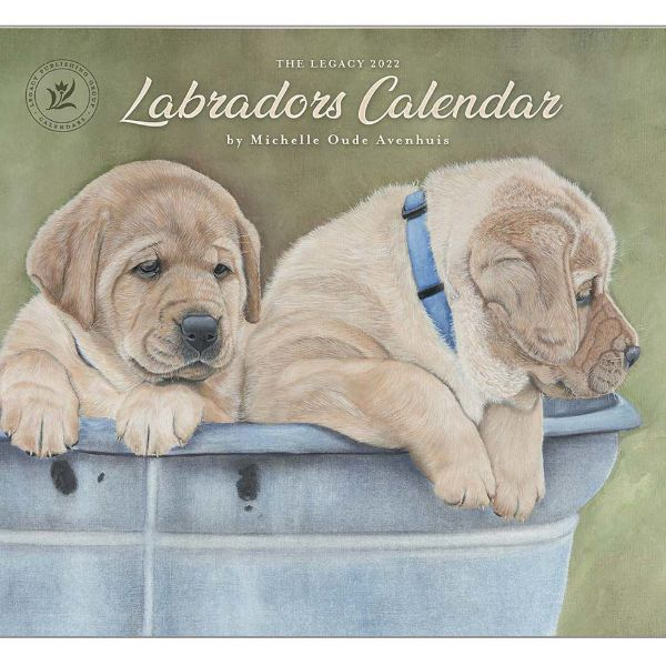 Picture of LEGACY Wall Calendar 2022 Labradors Calender by Michelle Oude Avenhuis