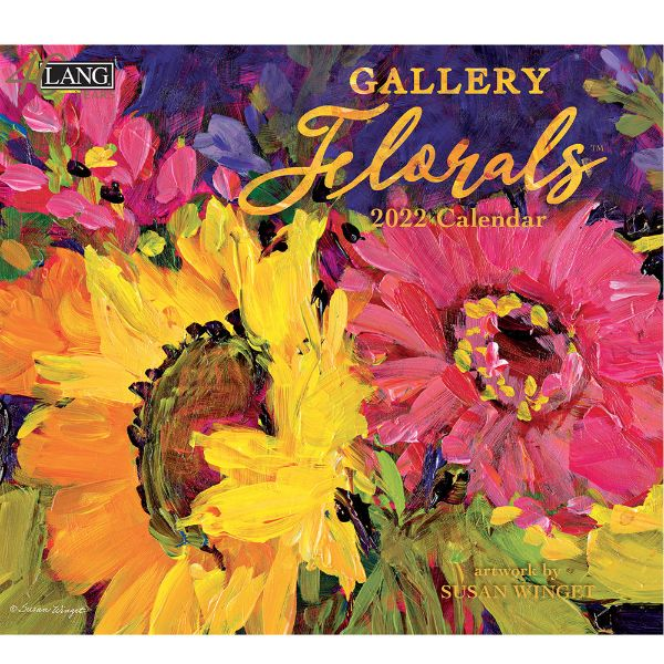 Picture of LANG Wall Calendar 2022 Gallery Florals by Susan Winget
